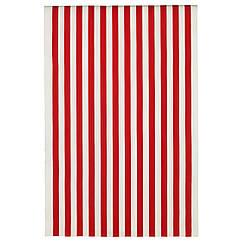 SOFIA Ткань, ширина полосы, красный/белый 501.600.34