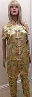 Традиционный китайский костюм штаны и туника