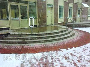 Лестницы и дорожки без льда и снега