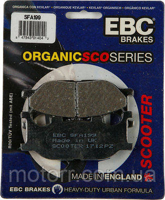 Тормозные колодки EBC SFA199