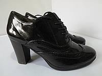 Ботинки женские лаковые,размер 38