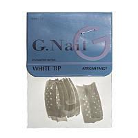 Типсы для наращивания G.Nail №G1011, перфорированные