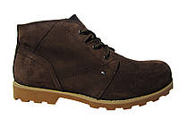 Мужские ботинки CAT,  нубук, натуральный мех. Р. 45, фото 1