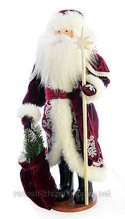 Дед Мороз украшение под елку 50 см