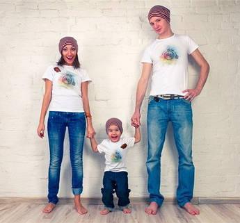 Одежда с 3Д рисунками для всей семьи
