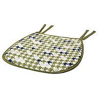 ANNVY Подушка на стул, зеленый