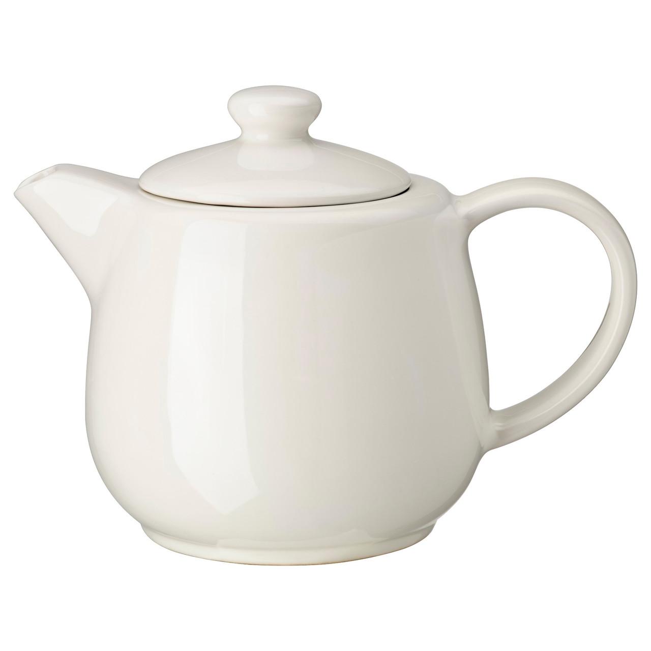 VARDAGEN Чайник, кремовый 402.893.44