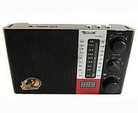 Портативная радио колонка GOLON RX-2070, поддержка форматов MP3/WAW/WMA, цифровой дисплей