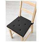 JUSTINA Подушка на стул, серый/черный, фото 2