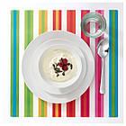 POPPIG Салфетка под прибор, в полоску, разноцветный, фото 2