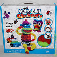Детский конструктор липучка Банчемс на 500 деталей, развивающая игрушка Bunchems 500 предметов