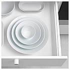 IKEA 365+ Talerz głęboki/miska, zakrzywione boki biały 502.797.02, фото 4