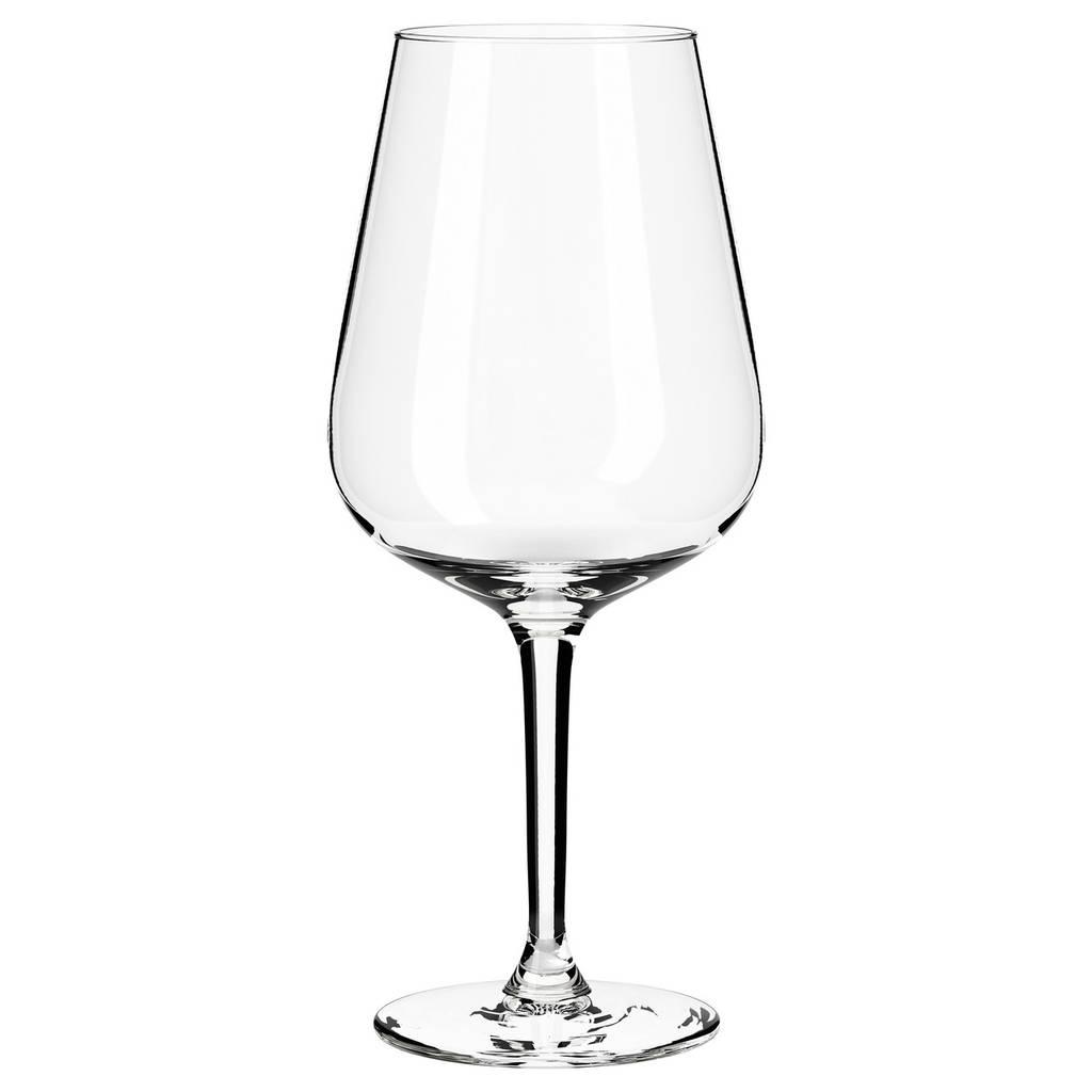 HEDERLIG Бокал для красного вина, прозрачное стекло
