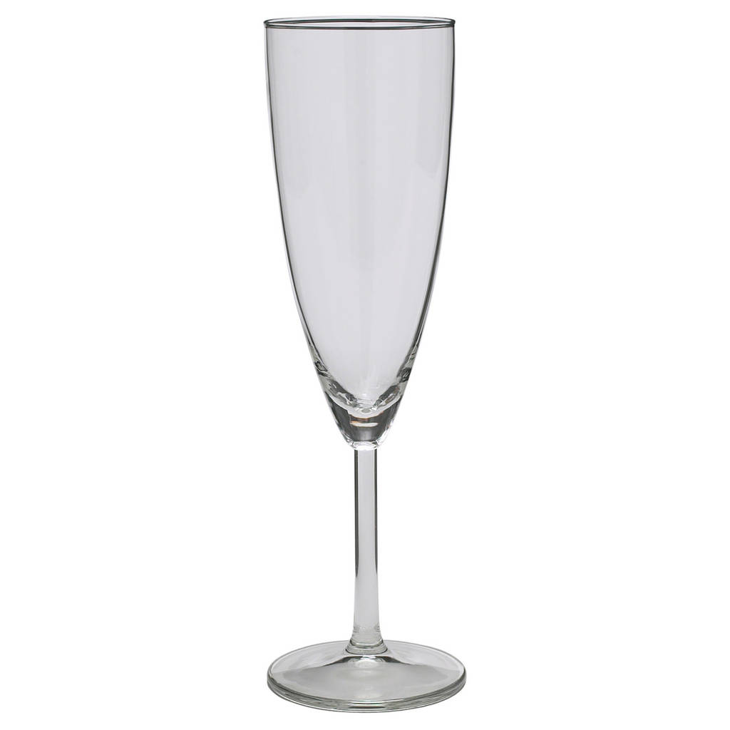 SVALKA Бокал для шампанского, стекло, прозрачный