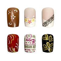 Накладные ногти Knail №A002-2 цветные