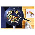 IKEA 365+ HJÄLTE Ложка для miesznia, нержавеющ сталь, черный, фото 3