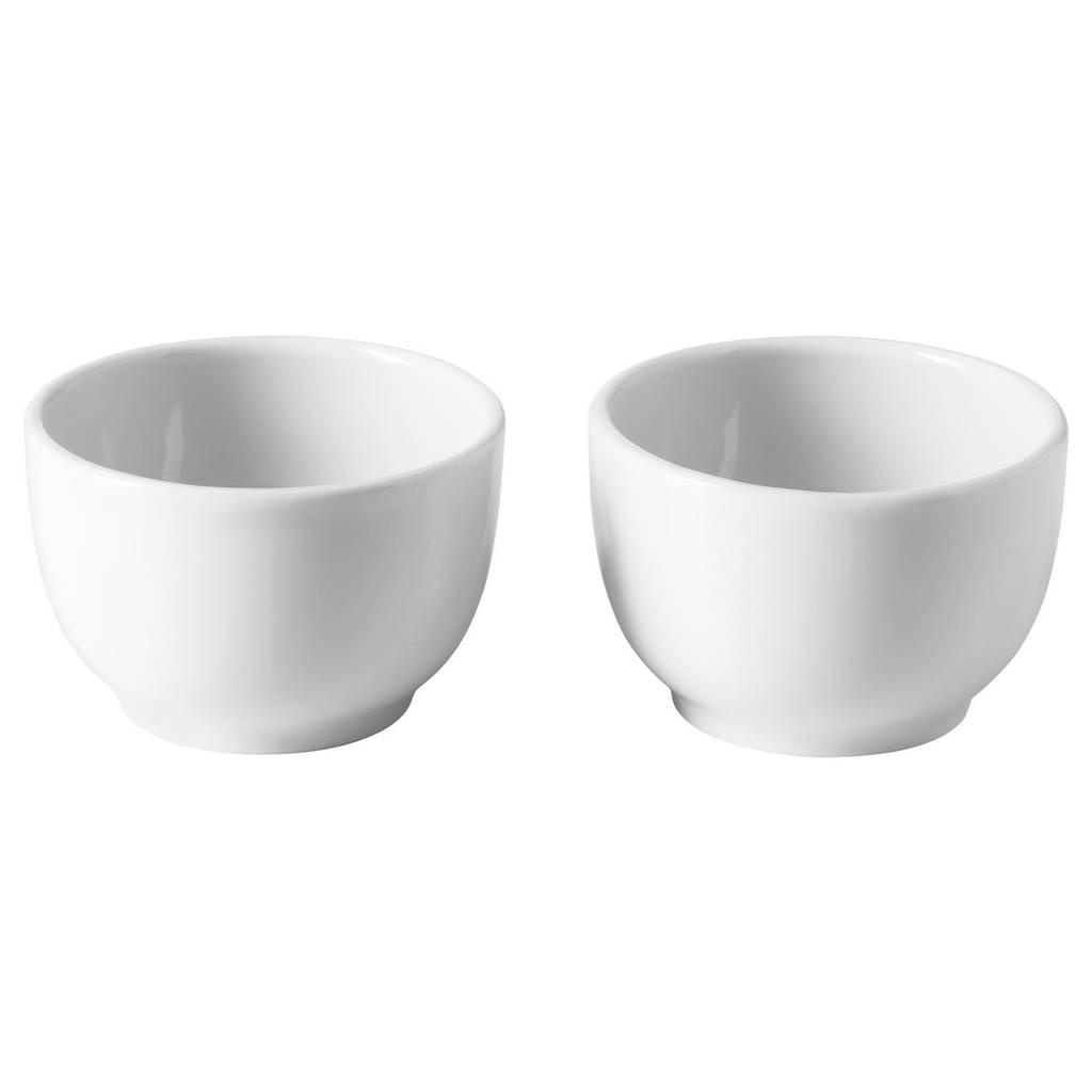 IKEA 365+ Миска/подставка д/яйца, с округлыми стенками белый