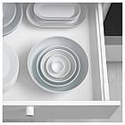 IKEA 365+ Миска/подставка д/яйца, с округлыми стенками белый, фото 4