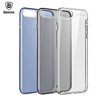 Чехол Baseus Sky Case для iPhone 7 прозрачный черный, фото 1