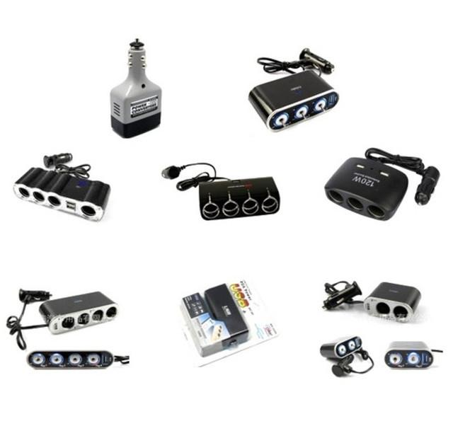 Автомобильные адаптеры, зарядные и разветвители