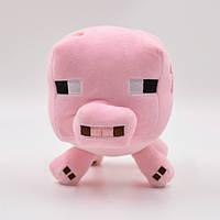 Мягкая игрушка Іграшка Свинка, Pig з MineCraft, Майнкрафт Свинья