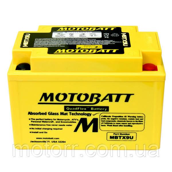 Аккумулятор Motobatt MBTX9U