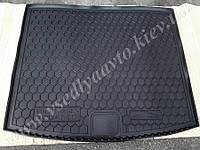 Коврик в багажник Volkswagen Touareg с 2010 г. (AVTO-GUMM) пластик+резина