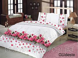 """Комплект постельного белья ALTINBASAK Ранфорс """"Guldestei!"""" Евро 50x70"""