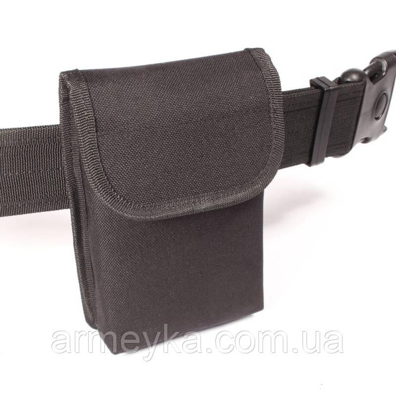 Текстильный подсумок/карман Compact Belt Notebook Pouch. Полиция Великобритании, оригинал.