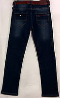 Теплые джинсы для мальчиков 11 15 лет Altun