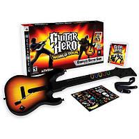 Гитара для PS3,Guitar Hero World Tour (Ps3) (гитара+диск игра), фото 1
