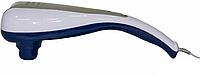 Вибромассажер ручной SL 222, 2 силиконовые насадки, мощность 20 Вт, 2 скорости, вес 1,4 кг