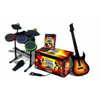 Музыкальная установка Guitar Hero World Tour Full Bundle (Ps2)