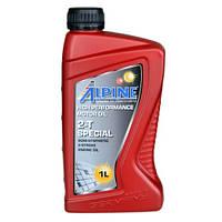 Моторное масло для 2Т двигателей мотоциклов и мопедов  ALPINE 2T Special API TC полусинтетика 1L