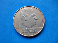 20 крон НОРВЕГИИ 2000 год - обиходная монета
