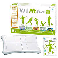 Доска контроллер  Wii Balance Board + Wii Fit Plus