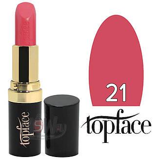 TopFace Губная помада PT-151 Matte Paint Rouge Lipstick Тон №21 pink berry, матовая, фото 2