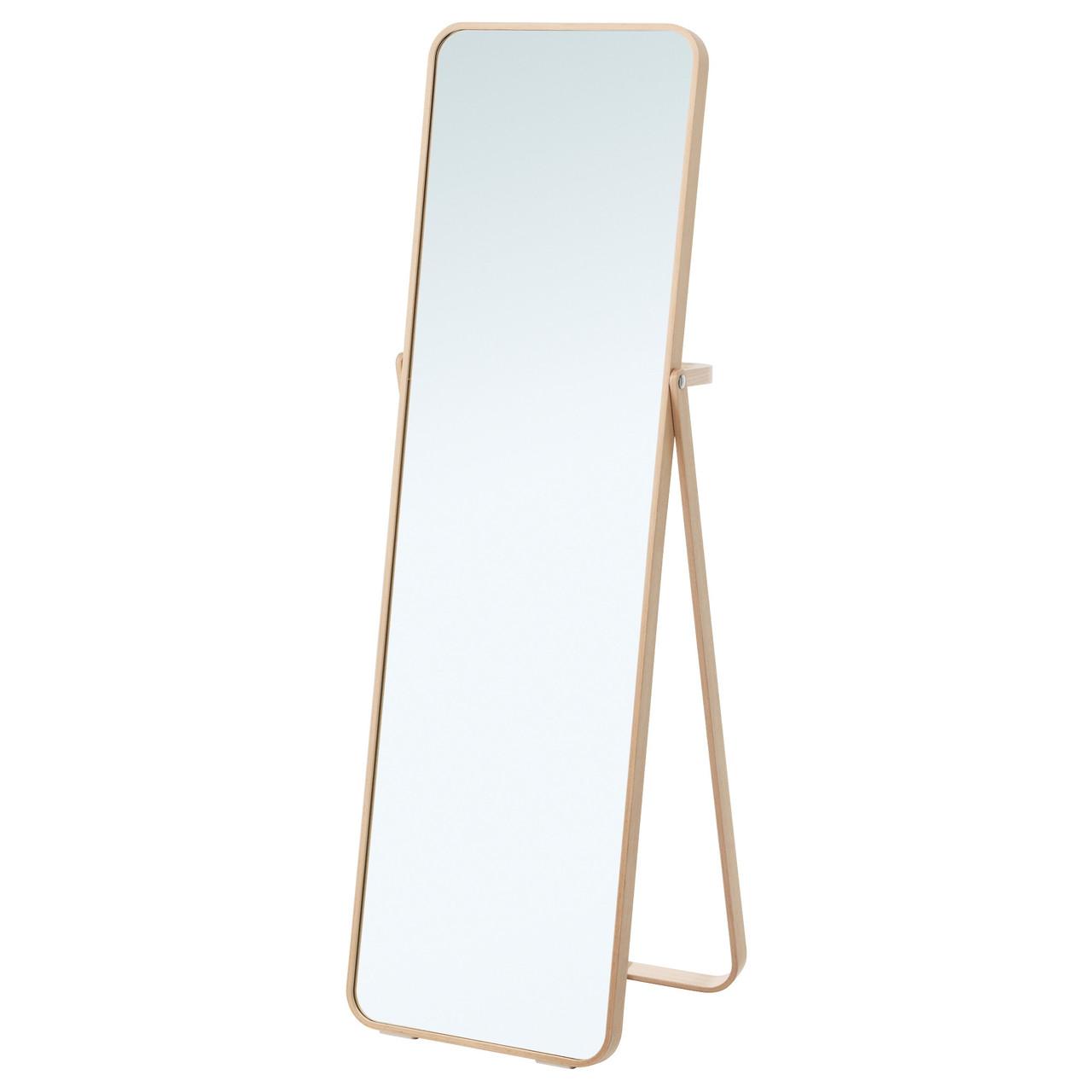 IKORNNES Зеркало напольное, ясень 302.983.96