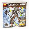 Конструктор Bela серия Hero Fortress 10116 Чёрный Фантом (аналог Lego Hero Factory 6203)