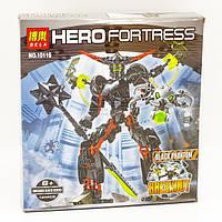 Конструктор Bela серия Hero Fortress 10116 Чёрный Фантом (аналог Lego Hero Factory 6203), фото 1