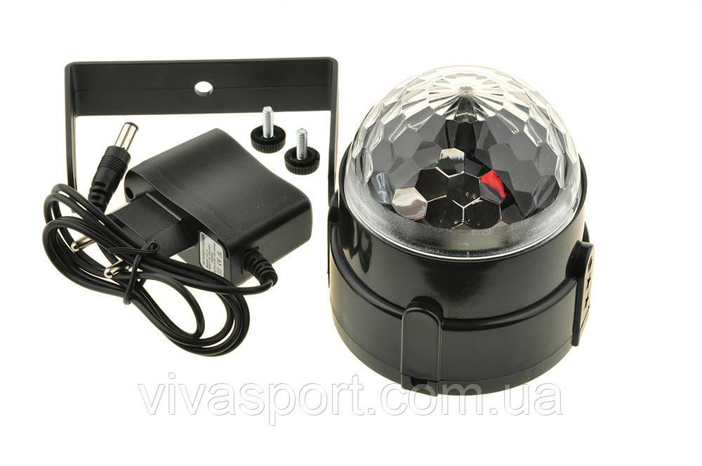 Диско-шар светодиодный LED Party Light, проектор для вечеринок ЛЭД Пати Лайт