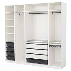 PAX Шкаф, белый 891.670.44