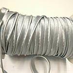 Кант атласный светло-серый стальной розница 1.3 см шир, фото 3