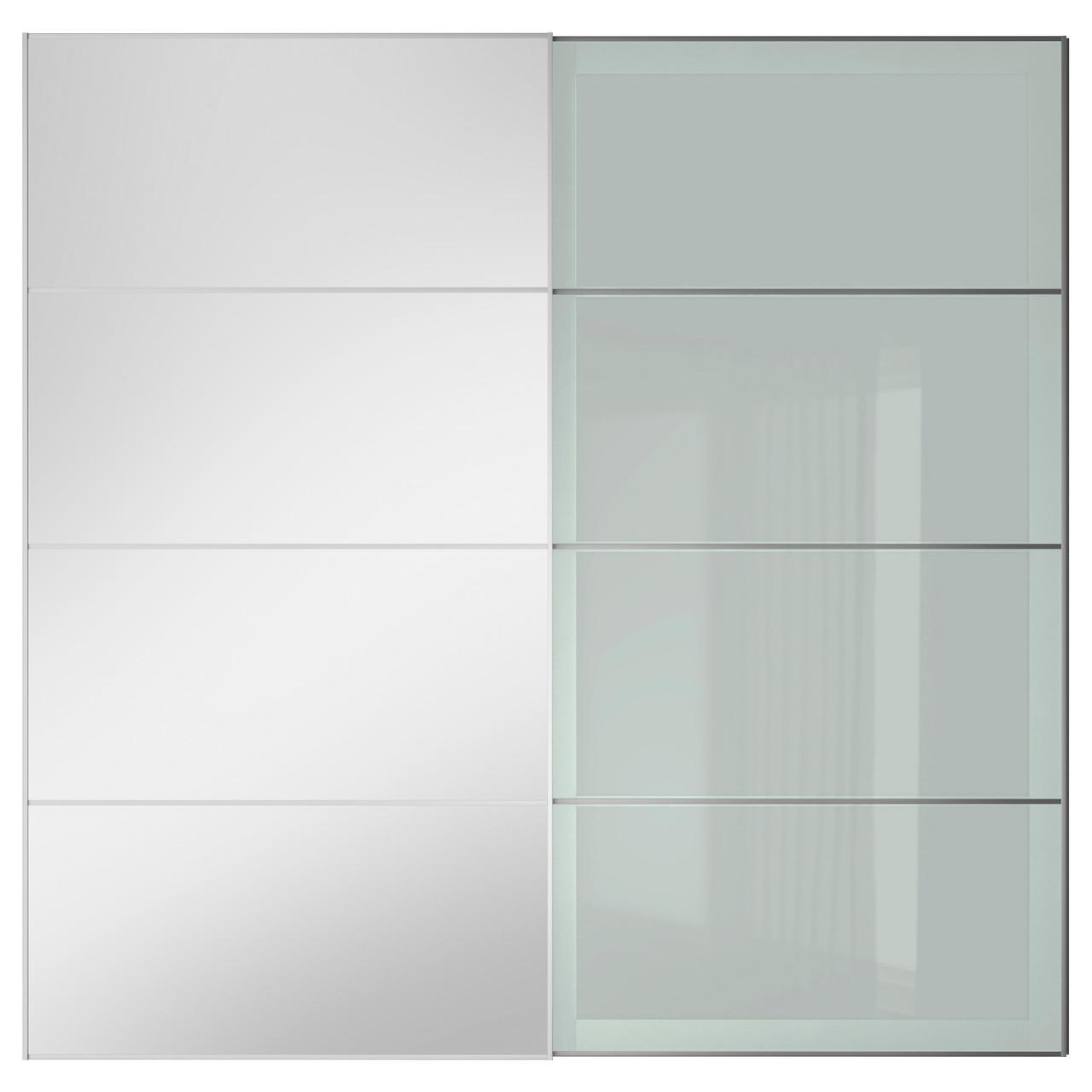 AULI / SEKKEN Пара дверей балан, зеркало, матовое стекло 191.910.14