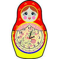 Часы настенные Матрёшка