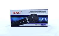 Динамический недорогой акустический микрофон DM WG901 UKC для вокала и караоке, 50-15000Гц