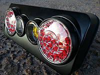 Задние фонари на ВАЗ 2106 стиль Camaro (черные)
