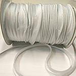 Білий атласний кант шир 1.3 см, фото 2