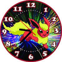 Настенные часы детские Покемон