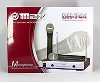 Микрофон для сцены, радиосистема MAX DH-744, система подавления помех, радиус действия 60 м